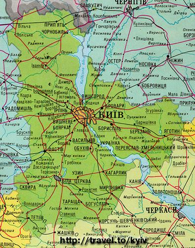 карта киевской области скачать бесплатно - фото 7